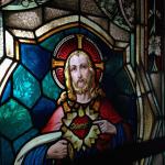 Fenster aus der alten Kirche